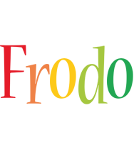 Frodo birthday logo