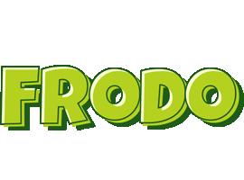 Frodo summer logo