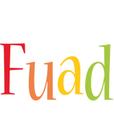 Fuad birthday logo