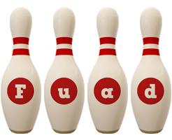 Fuad bowling-pin logo