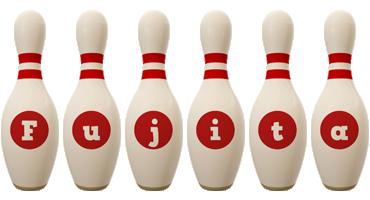 Fujita bowling-pin logo