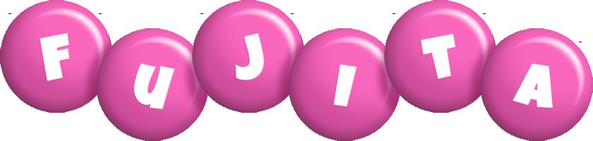 Fujita candy-pink logo
