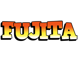 Fujita sunset logo