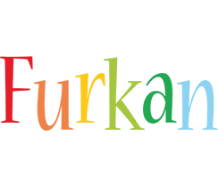 Furkan birthday logo