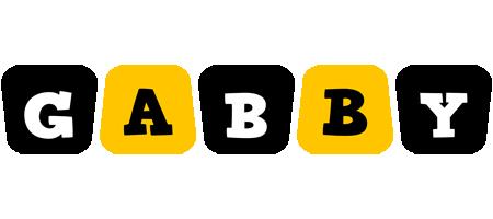 Gabby boots logo