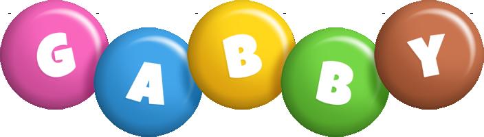 Gabby candy logo