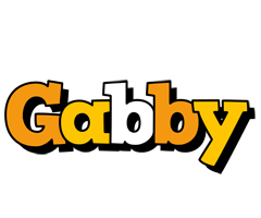 Gabby cartoon logo