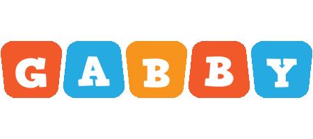 Gabby comics logo