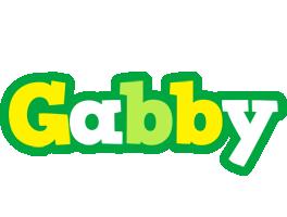 Gabby soccer logo