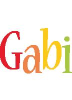 Gabi birthday logo