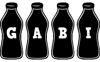 Gabi bottle logo