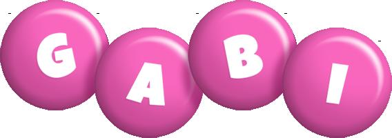 Gabi candy-pink logo