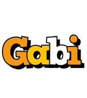 Gabi cartoon logo