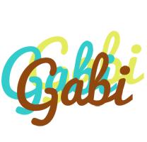Gabi cupcake logo