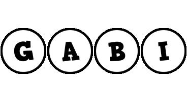 Gabi handy logo
