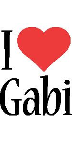 Gabi i-love logo
