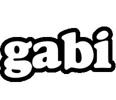 Gabi panda logo