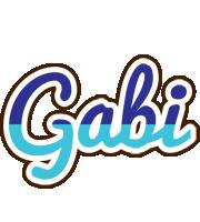 Gabi raining logo