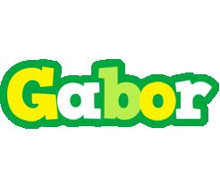 Gabor soccer logo