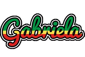 Gabriela african logo