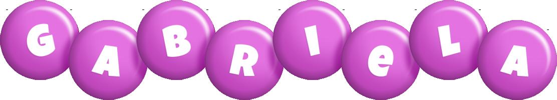 Gabriela candy-purple logo