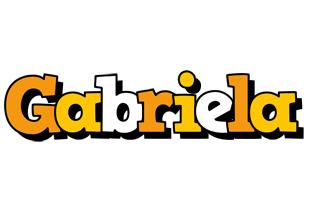 Gabriela cartoon logo