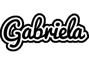 Gabriela chess logo