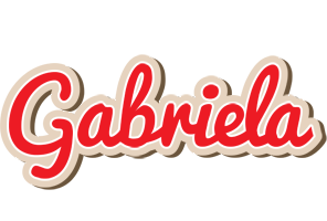 Gabriela chocolate logo