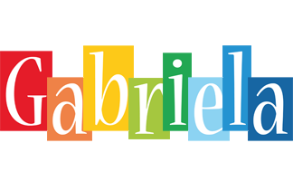 Gabriela colors logo