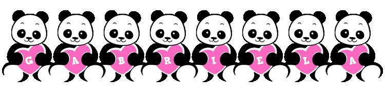 Gabriela love-panda logo