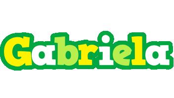 Gabriela soccer logo