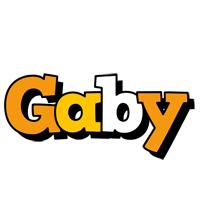 Gaby cartoon logo