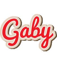 Gaby chocolate logo