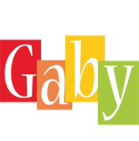 Gaby colors logo