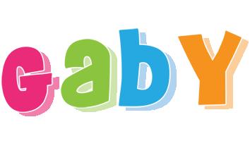 Gaby friday logo