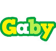 Gaby soccer logo