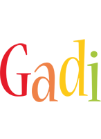 Gadi birthday logo