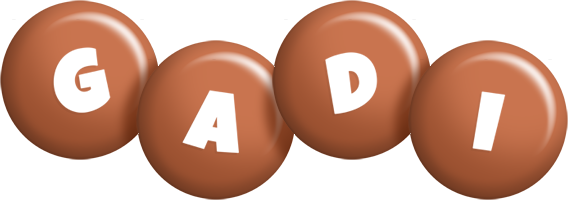 Gadi candy-brown logo