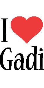 Gadi i-love logo