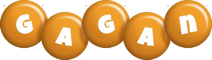 Gagan candy-orange logo