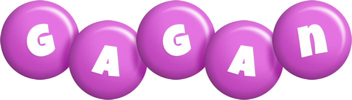 Gagan candy-purple logo