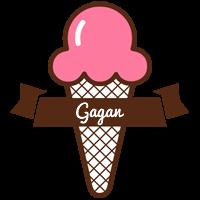 Gagan premium logo