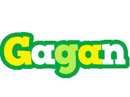 Gagan soccer logo