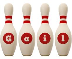 Gail bowling-pin logo