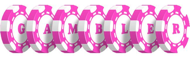 GAMBLER logo effect. Colorful text effects in various flavors. Customize your own text here: https://www.textGiraffe.com/logos/gambler/