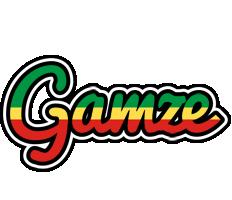 Gamze african logo
