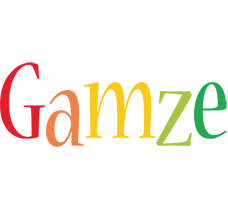 Gamze birthday logo