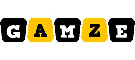 Gamze boots logo