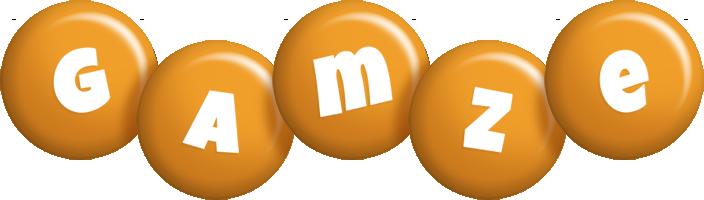 Gamze candy-orange logo