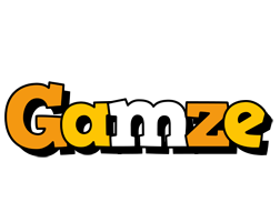 Gamze cartoon logo